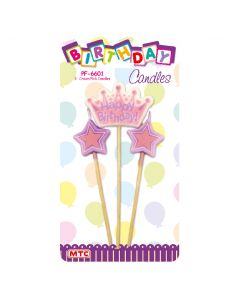 Crown Pick Candles 3ct