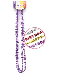 "32"" Happy Birthday Necklaces 2ct"