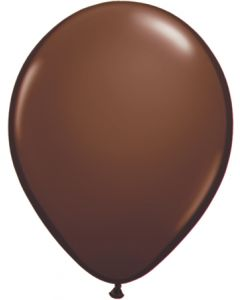 """11""""Chocolate Brown 100ct"""