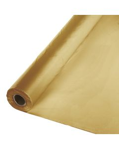 "Metallic Gold Table Roll 40""x2"
