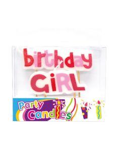 Birthday Girl Candles 1set