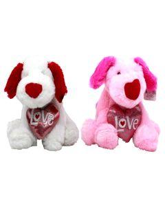 """12"""" Puppy Love w/ Heart"""