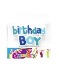 Birthday Boy Candles 1set