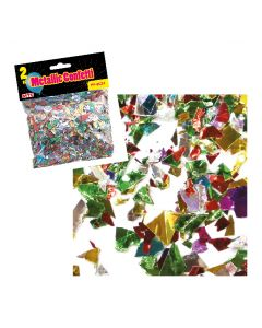 2 oz Metallic Confetti