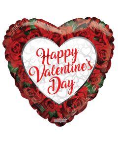 """9"""" Valentine Roses"""