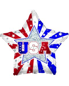"18"" USA Stars & Stripes"