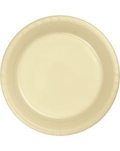 "Ivory 7"" Plates 20ct"