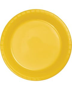 "Yellow Gold 7"" Plates 20ct"