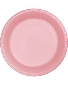 "Pink 7"" Plates 20ct"