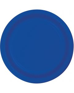 "Cobalt Blue 7"" Plates 20ct"