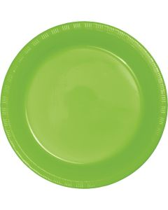 """Lime 7"""" Plates 20ct"""