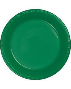 "Green 7"" Plates 20ct"