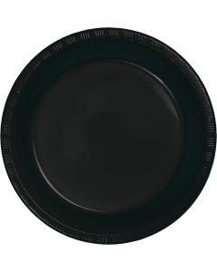 "Black 7"" Plates 20ct"