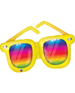 "42"" Rainbow Striped Sunglasses"