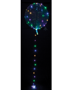 "18"" Crystal Clearz Multi Lights"