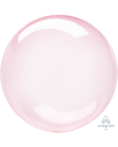 "18"" Crystal Clearz - Dk Pink"