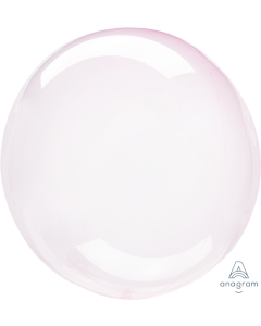 """18"""" Crystal Clearz - Lt Pink"""