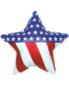 "34"" Patriotic Star"