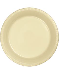 "Ivory 10"" Plates 20ct"