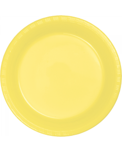 "Yellow 10"" Plates 20ct"