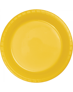 "Yellow Gold 10"" Plates 20ct"