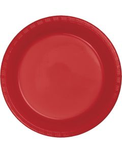 """Red 10"""" Plates 20ct"""