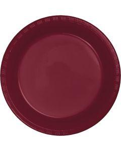 "Burgundy 10"" Plates 20ct"