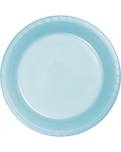 "Light Blue 10"" Plates 20ct"