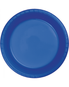 "Cobalt Blue 10"" Plates 20ct"