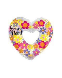 "36"" Love Mom Spring Flowers"