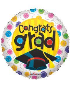 """9"""" Congrats Grad Dots"""