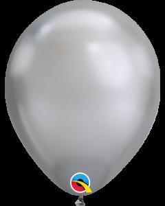 "7"" Chrome Silver 100ct"