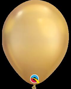 "7"" Chrome Gold 100ct"