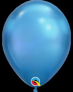 """7"""" Chrome Blue 100ct"""