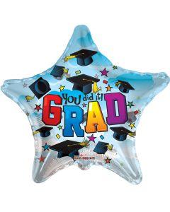 "9"" You Did It Grad!"