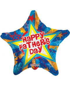 """18"""" Father's Day Gold Stars"""