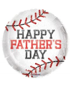 """18"""" Father's Day Baseball"""