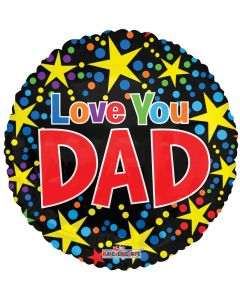 "18"" Love Dad Fireworks"