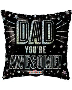 """18"""" Awesome Dad Stars"""