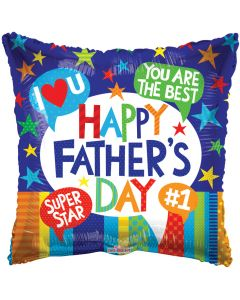 """18"""" Father's Day Accolades"""