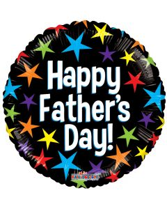 """18"""" Father's Day Stars of Color"""