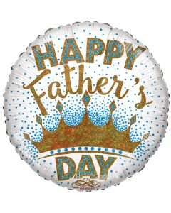 """18"""" King Dad Father's Day"""