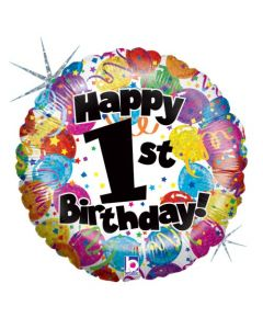 """18""""1st Party B'day Pkg"""