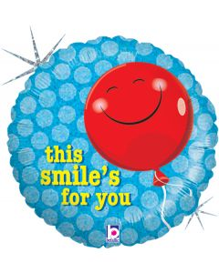 "18"" This Smile's For You Pkg"