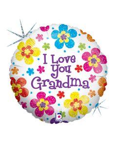 """18"""" I Love You Grandma"""