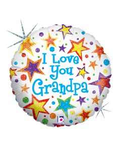 "18"" I Love You Grandpa"
