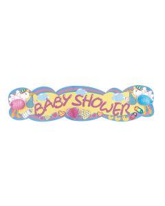 8' Baby Shower Tissue Banner