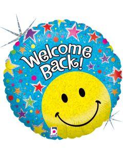 "18"" Smiley Welcome Back Pkg"