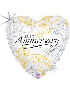 "18"" Anniversary Elegance Pkg"