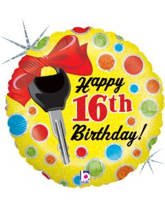 "18"" 16th B'day Dots"